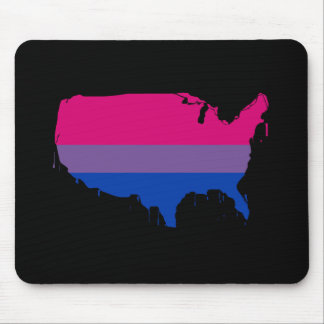 Bisexual America Mouse Pad