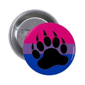 Bisexual Bear Pride 6 Cm Round Badge