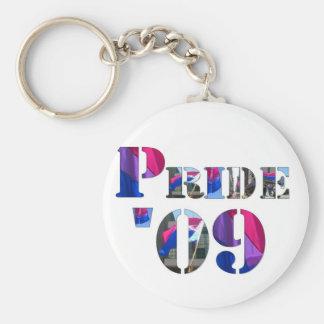 Bisexual Pride '09 Keychains