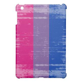 BISEXUAL PRIDE DISTRESSED DESIGN iPad MINI COVER