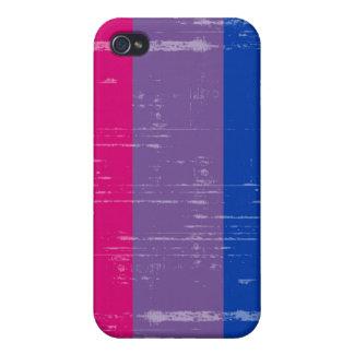 BISEXUAL PRIDE DISTRESSED DESIGN iPhone 4/4S CASES