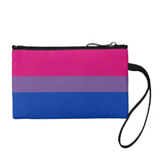 Bisexual Pride Flag Coin Purses