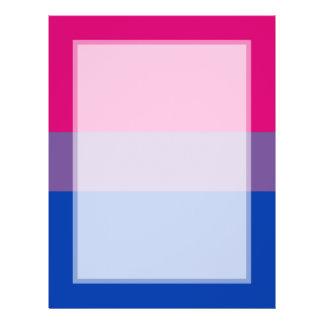Bisexual Pride Flag 21.5 Cm X 28 Cm Flyer