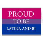 Bisexual Pride Gear Greeting Card