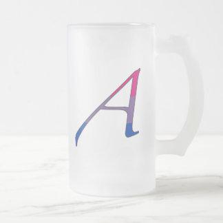 Bisexual Pride Scarlet Letter A Coffee Mug