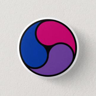 Bisexual Pride Triskelion Button