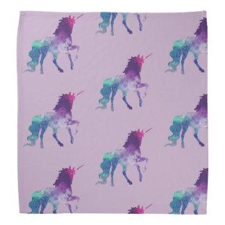 Bisexual unicorn bandana