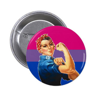 Bisexual Woman Pride 6 Cm Round Badge