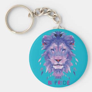 Bisexuality Pride Key Chain