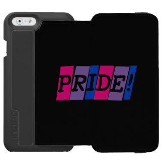 Bisexuality pride  text sign incipio watson™ iPhone 6 wallet case
