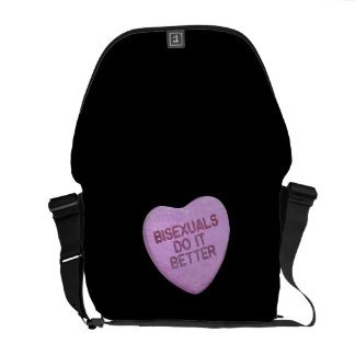 BISEXUALS DO IT BETTER CANDY -.png Messenger Bags