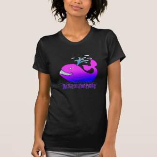Bisexuwhale Tee Shirt