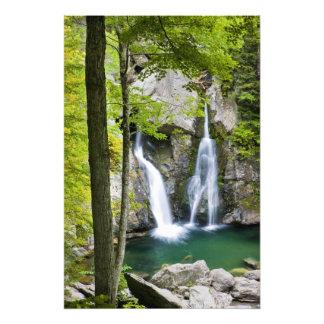 Bish Bash Falls in Bish Bash Falls State Park Photo Print