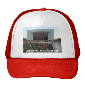 Bishkek, Kyrgyzstan Brutalist National Museum Cap