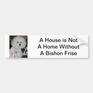 Bishon Frise Bumper Sticker