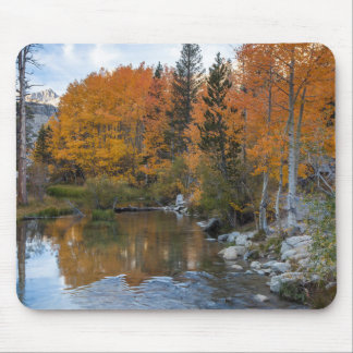 Bishop Creek. Outlet and fall color Mouse Mat