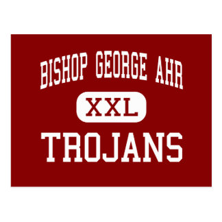 Bishop George Ahr - Trojans - High - Edison Postcard