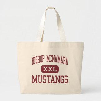 Bishop McNamara - Mustangs - High - Forestville Large Tote Bag