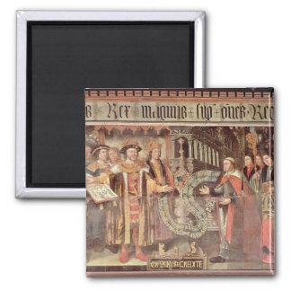 Bishop Robert Sherburne with Henry VIII Fridge Magnets