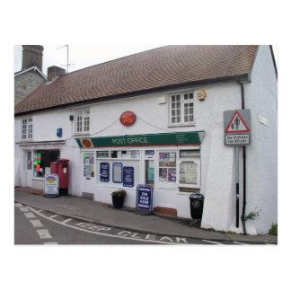 Bishop's Hull post office, Somerset, UK Postcard