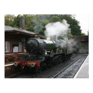 Bishops Lydeard station, West Somerset Railway, UK Postcard