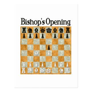 Bishop's Opening Postcard