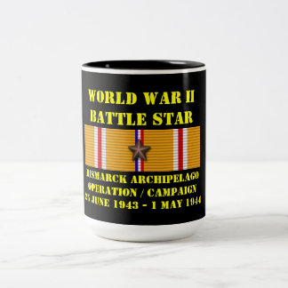 Bismarck Archipelago Operation Campaign Two-Tone Coffee Mug
