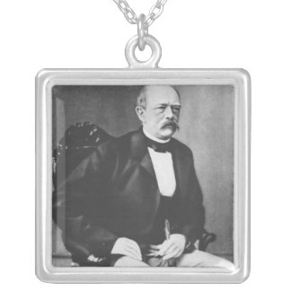 Bismarck in 1870 before the Declaration of War Silver Plated Necklace