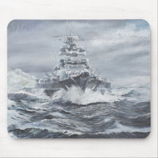 Bismarck off Greenland coast 1900hrs 23rdMay Mouse Mat