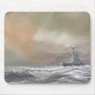 Bismarck signals Prinz Eugen 0959hrs 24th May Mouse Mat