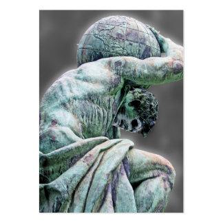 Bismarck Statue, Berlin, Greek God Atlas, Grey Bac Pack Of Chubby Business Cards