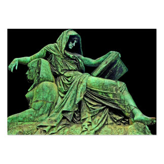Bismarck Statue, Berlin, Sibyl, Read, Sphinx (p2) Pack Of Chubby Business Cards