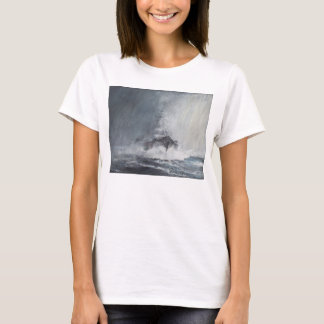 Bismarck through curtains of rain sleet T-Shirt