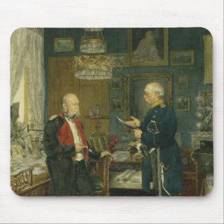 Bismarck with Emperor Wilhelm I Mouse Pad
