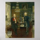 Bismarck with Emperor Wilhelm I Posters