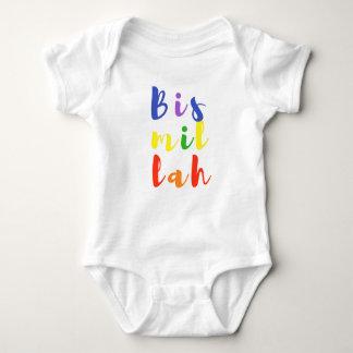 Bismillah Baby Jersey Bodysuit