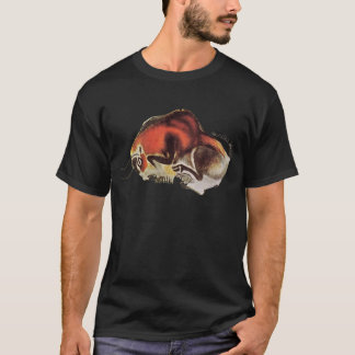 Bison ~ Altamira Spain ~ Cave Drawing T-Shirt