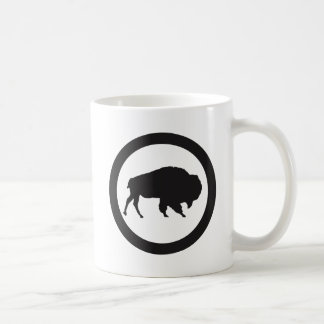 Bison Bay 11 oz White Mug