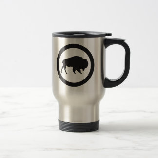 Bison Bay 15 oz Stainless Steel  Travel Mug