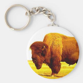Bison / Buffalo Key Ring