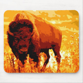Bison Buffalo Mouse Pads