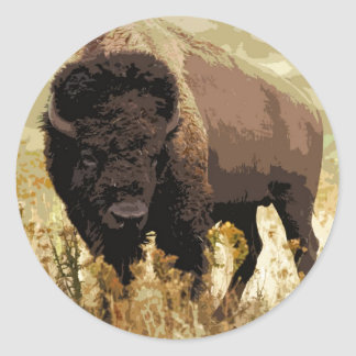 Bison / Buffalo Stickers