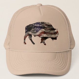 Bison Flag Hat