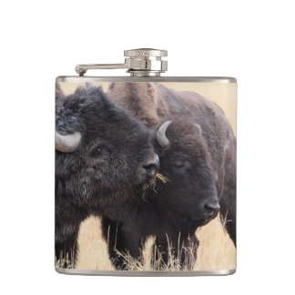 bison friendship hip flasks