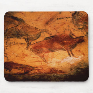 Bison from the Caves at Altimira, c.15000 BC Mouse Mat