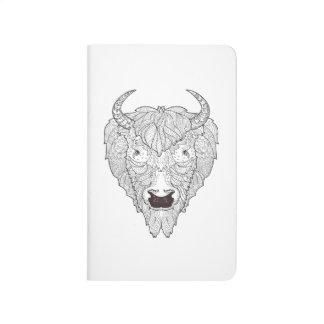 Bison Head Doodle Journal