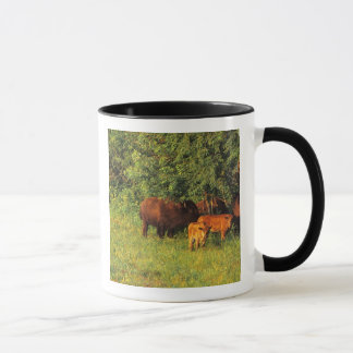 Bison Herd at Neil Smith NWR in Iowa Mug
