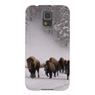 Bison in Winter Galaxy S5 Case