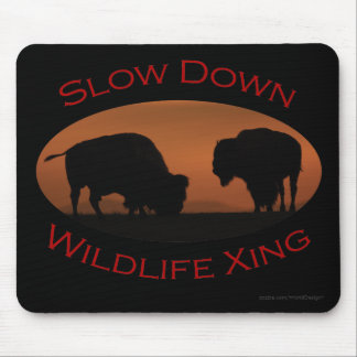 bison mouse pad