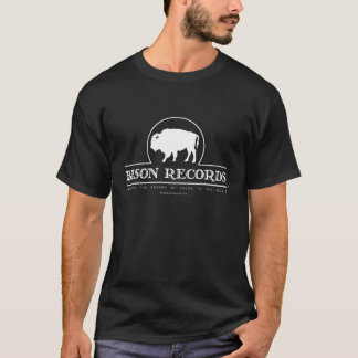 Bison Records Men's Dark T-shirt
